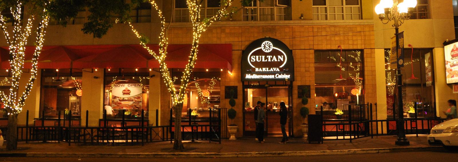 Sultan Baklava Mediterranean Cuisine A San Diego Turkish Restaurant