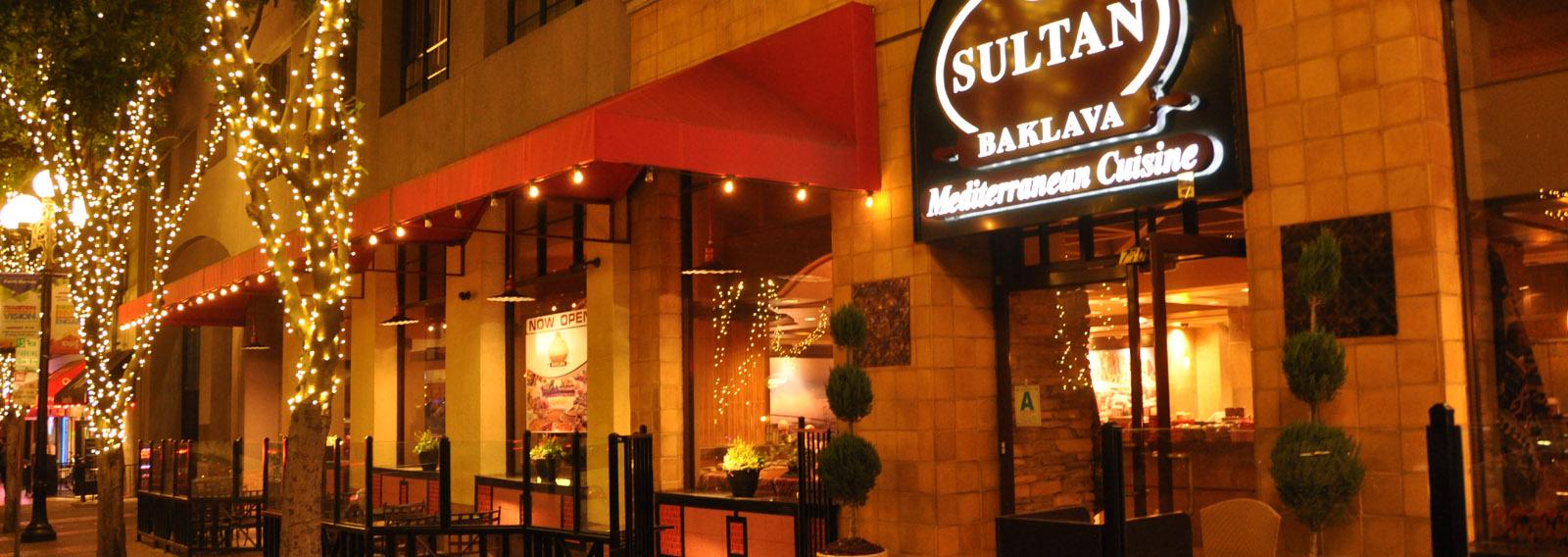 Sultan Baklava Mediterranean Cuisine A San Diego Turkish